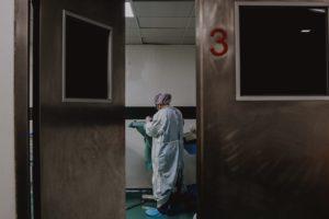 Nurse in a hospital